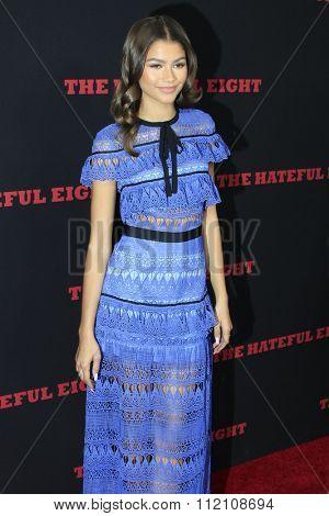 LOS ANGELES - DEC 7:  Zendaya Coleman at the