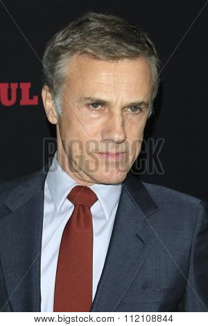 LOS ANGELES - DEC 7:  Christoph Waltz at the