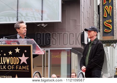 LOS ANGELES - DEC 10:  Brian Grazer, Ron Howard at the Ron Howard Star on the Hollywood Walk of Fame at the Hollywood Blvd on December 10, 2015 in Los Angeles, CA