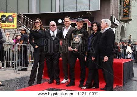 LOS ANGELES - DEC 10:  Ron Howard, Guests at the Ron Howard Star on the Hollywood Walk of Fame at the Hollywood Blvd on December 10, 2015 in Los Angeles, CA