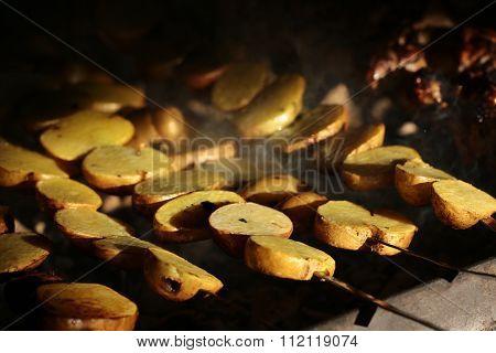 Smoky Potatoes Skewers