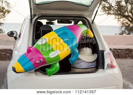 Car Trunk Beach
