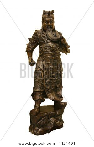 Statue Of Chinese Warrior