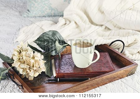 Hot Coffee In Bed