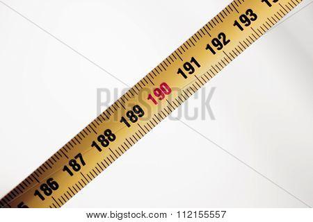 Measuring Tape Ruler Cm Numbers 190