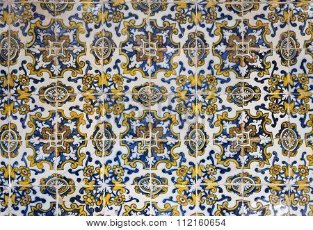 Panel Of Portuguese Tiles