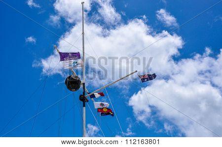Flag Array in the Sky