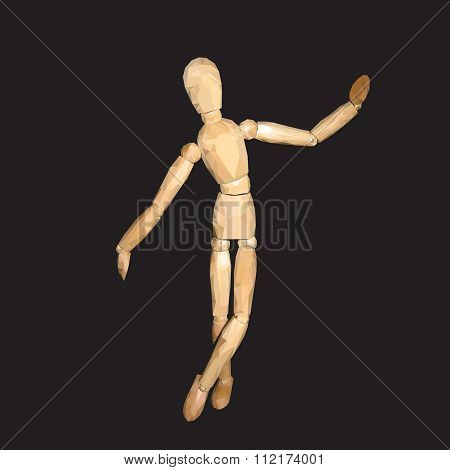 Mannequin wood  Doll