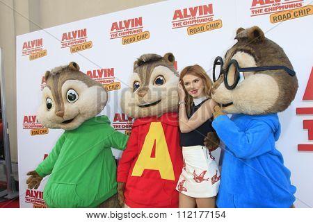 LOS ANGELES - DEC 12:  Bella Thorne  at the