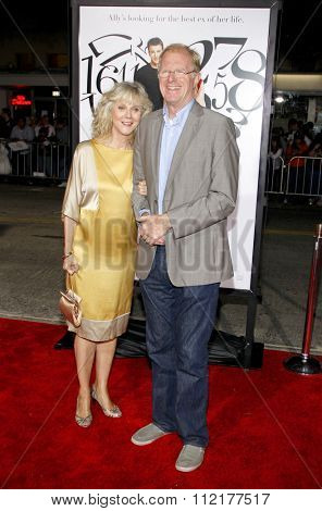 Blythe Danner and Ed Begley Jr. at the Los Angeles Premiere of