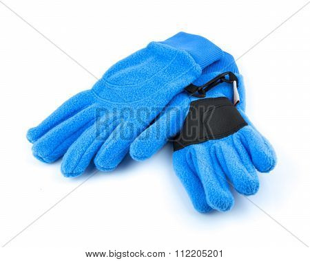 Blue Sport Gloves