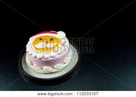 Santa's Lovely Cake Celebrate Christmas