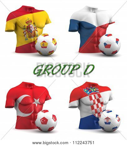 Group D European Football 2016
