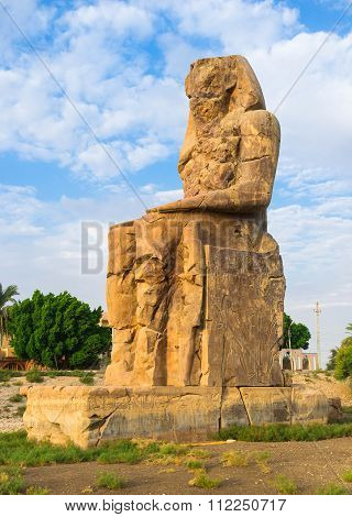 The Statue Of Amenhotep Iii