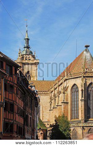 Gotische Dominikanerkirche Colmar