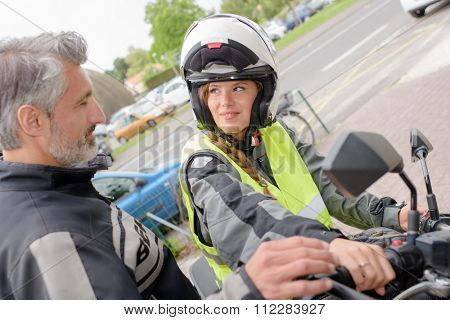 motorbike try out