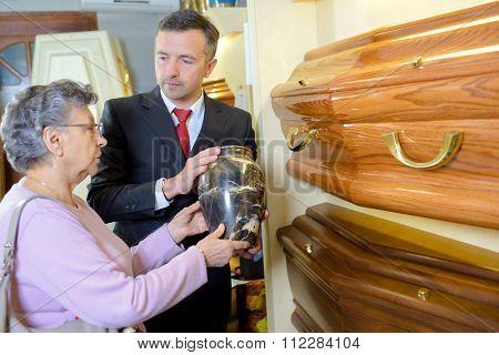 coffin shop