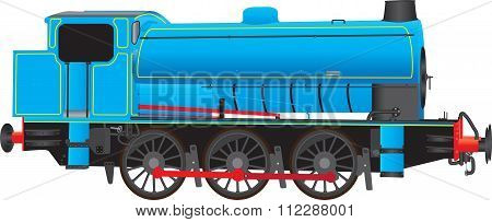 Industrial Steam Locomotive