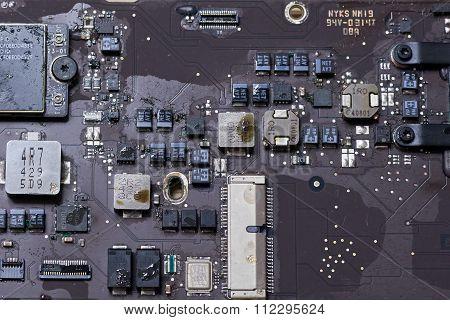 Damaged Electronics Liquid