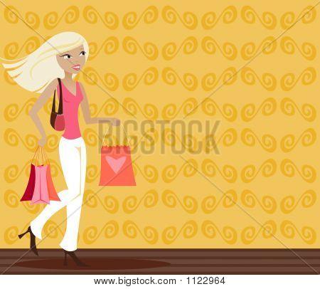 Blonde Shopper