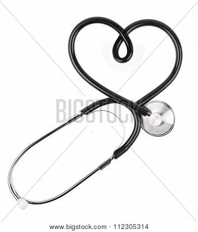 Stethoscope with Heart Shape