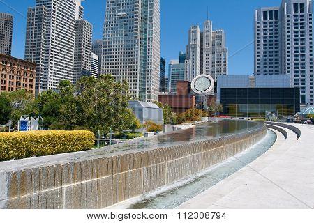 Famous Yerba Buena Center In San Francisco