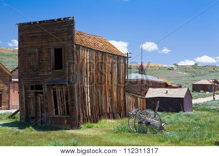 Old Buildings In Bodie