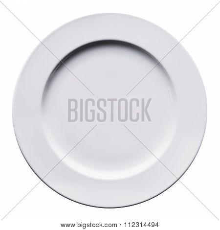 White big size flat plate