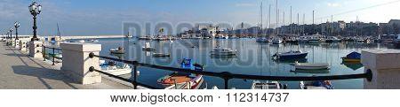 View of Bari. Puglia. Italy.