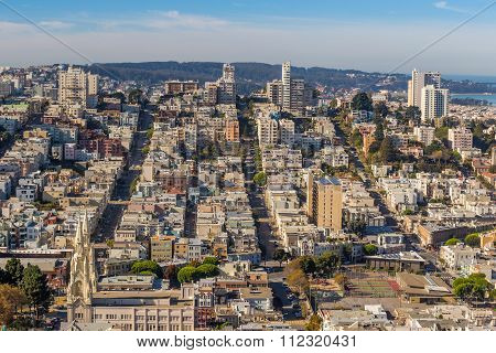 View Of San Francisco From The Coit Tower