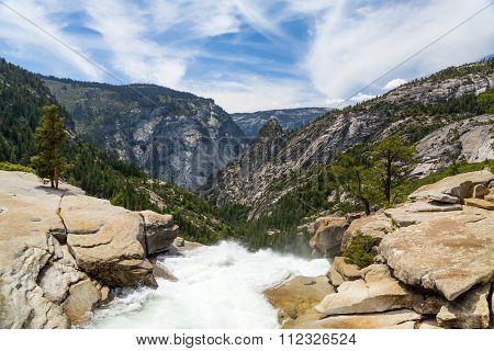 Vernal Fall in summer, Yosemite National Park California
