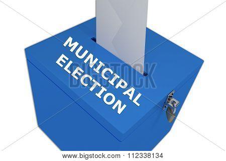 Municipal Election Concept