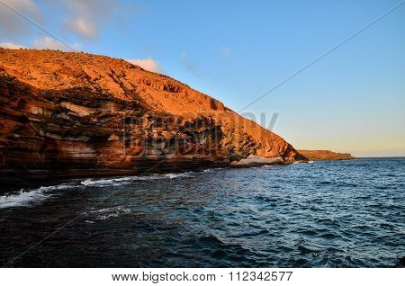 Volcanic Rock Basaltic Formation in