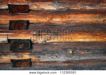 Blockhouse Logs Texture