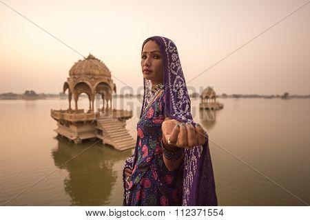Women of Jaisalmer.