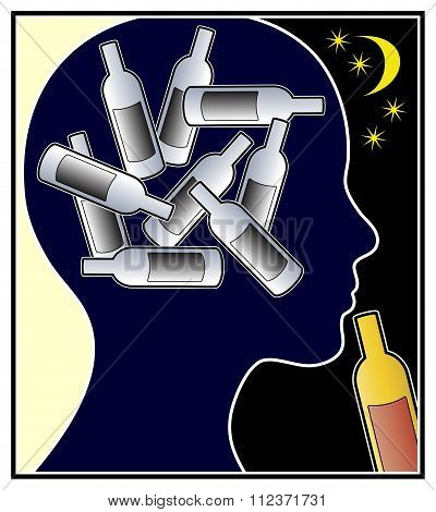 Alcohol Addicted Woman