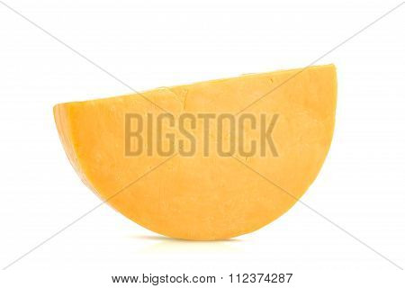 Single Half Wheel Of Colby Cheese