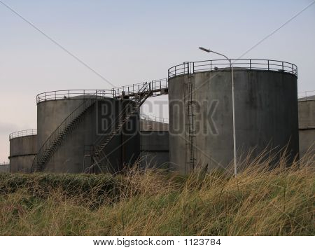 Grey Fuel Tanks