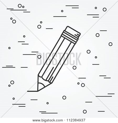 Pencil Icon.pencil Icon Vector.pencil Icon Drawing. Pencil Icon Image. Pencil Icon Graphic.