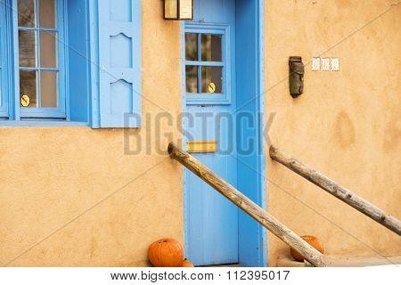 Entryway In Santa Fe