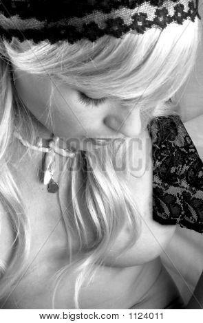 Pensive Blonde