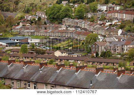 Welsh Village Of Cwmtwrch