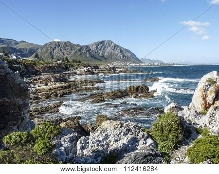 Coastline At Fernkloof Nature Reserve
