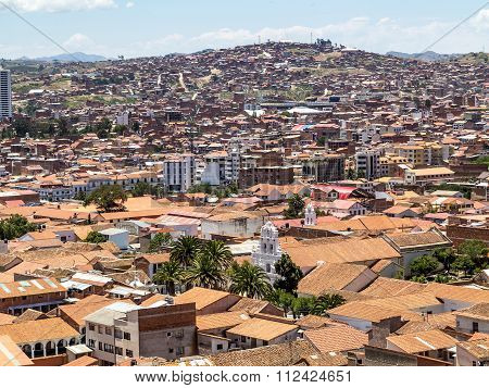 Skyline Of Sucre, Bolivia