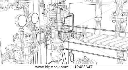Equipment for heating system