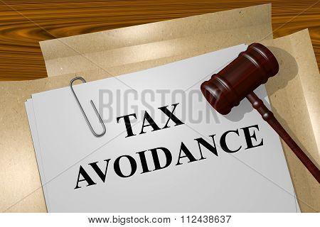 Tax Avoidance Concept