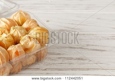 Physalis Fruit Cape Gooseberry Ground Cherry Organic Food Vegetabl