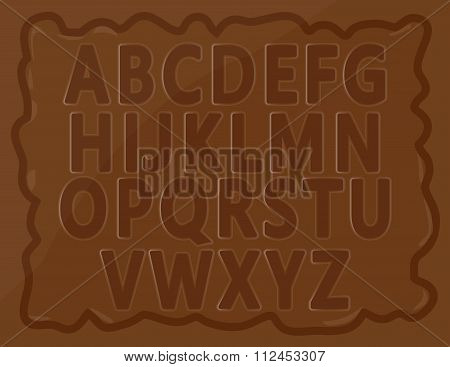 Chocolate Alphabets