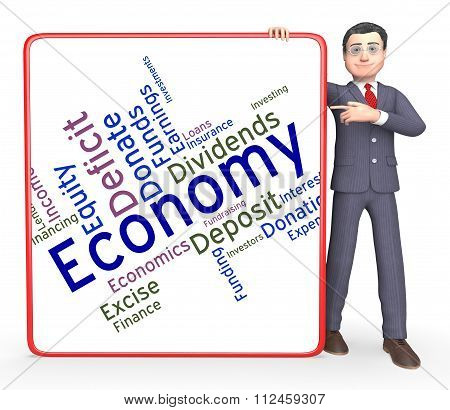 Economy Word Means Micro Economics And Economical