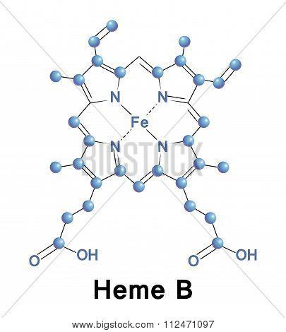 Heme B, medical
